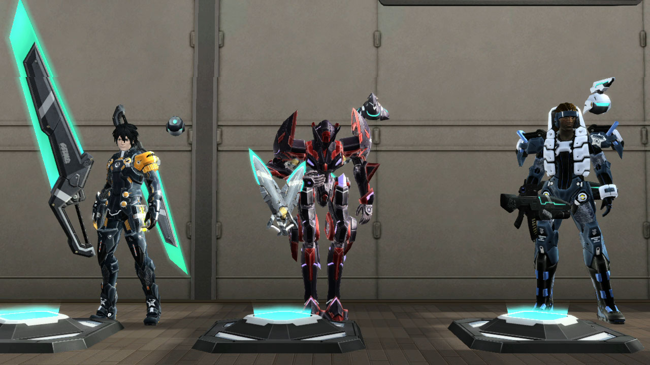Room Items Pso2 Weapon Hologram Room Item