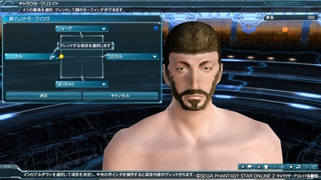 Cynical Male Face PSO2 450x253