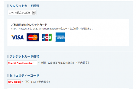 Credit Card Info 450x295