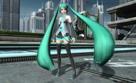Hatsune Miku PSO2 Costume and Hair
