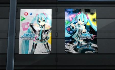 Hatsune Miku Project Diva f posters