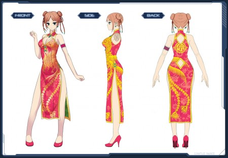China Dress Art